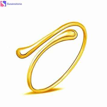 Water Drops No decorative fashion bracelet popular jewelry Womens Charm Bangle Bracelet Gift Gold & Sliver #0