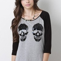 Binary Skull Top