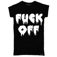 F**k Off Girls T-Shirt [B] | KILLSTAR