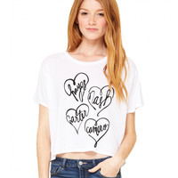 Hayes Grier Group (ALL) Hug Heart Flowy Tee - BLV Brands