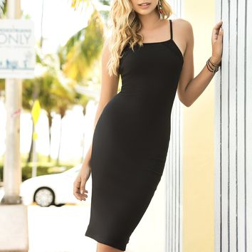 Flawless Ribbed Dress