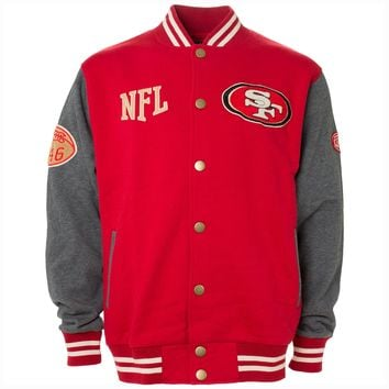 San Francisco 49ers NFL Sherman Varsity Fleece Jacket
