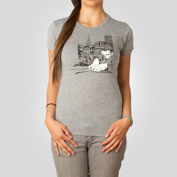 Sam Transamerica Women's T-Shirt in Athletic by Sam Flores