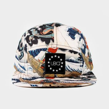UBIQ - Three Tides 5-Panel Strapback Hat