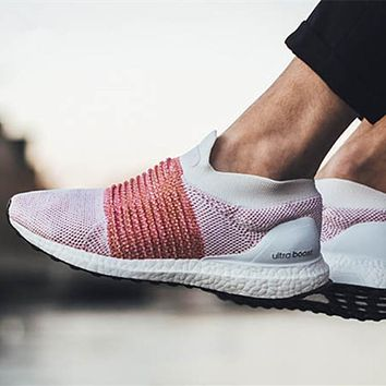ADIDAS ULTRA BOOST LACELESS  Hosiery running shoes