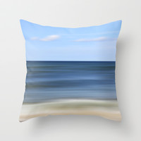 in love with sea Throw Pillow by findsFUNDSTUECKE