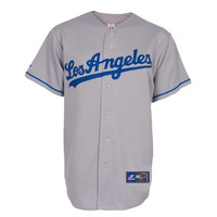 Los Angeles Dodgers MLB Blank Replica Jersey