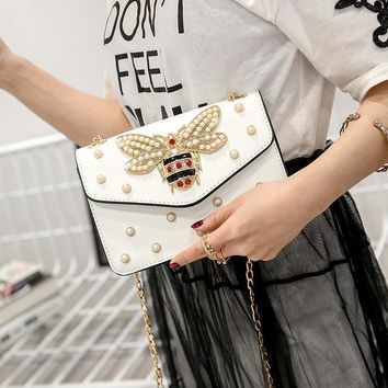 Korean Chain Shoulder Bag [11992344147]