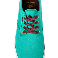 The Wino Sneaker in Teal