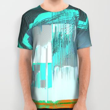RAIN on the FOREST All Over Print Shirt by Ducky B