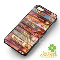 Disney Books - z321zz for  iPhone 6S case, iPhone 5s case, iPhone 6 case, iPhone 4S, Samsung S6 Edge