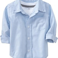 Old Navy Oxford Uniform Shirts For Baby