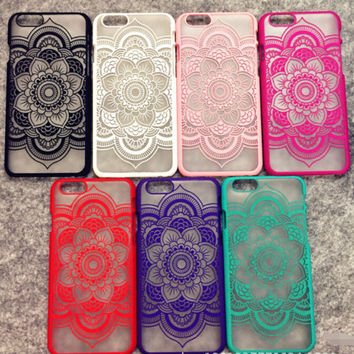 Retro Vintage Lace Floral iPhone 5 5s iPhone 6 6s Plus Case Cover Free Shipping