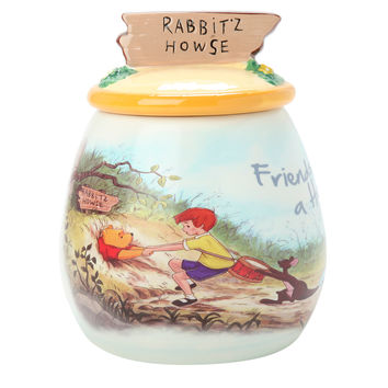 Disney Winnie the Pooh Friends Lend A Hand Cookie Jar