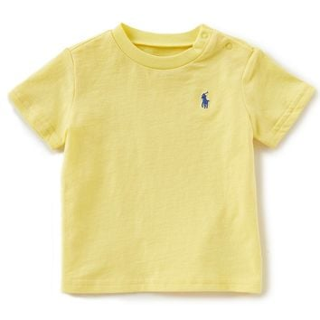 Ralph Lauren Childrenswear Baby Boys 3-24 Months Short-Sleeve Tee | Dillards