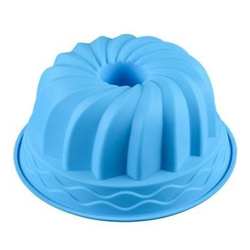 Big size Pumpkin Shape Silicone Baking Mold 3D Muffin Cake Pan Cupcake Mold Cake Decorating Tools Baking Pastry Tools