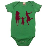 Lesbian Family on Infant Onesuit