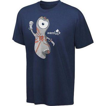 Licensed Sports 2012 London Olympics Youth Navy Wenlock T-Shirt KO_20_2