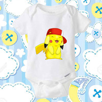 Halo pokemon baby Onesuit, shirt baby Onesuit, clothing baby Onesuit, baby Onesuit