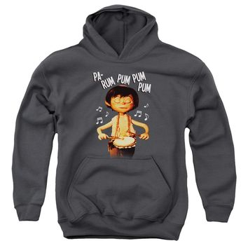 Little Drummer Boy - Drum Beat Youth Pull Over Hoodie