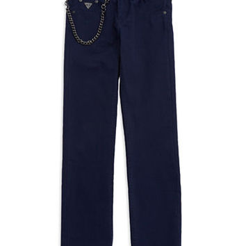 Guess Boys 8-20 Skinny Jeans With Chainlink