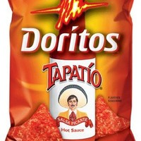 Doritos Tapatio Flavored Tortilla Chips, 11.5 Oz Bags (Pack of 7)