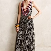 Amfissa Maxi Dress by Mara Hoffman Black Motif