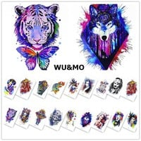Tattoo lion Body Art Sexy 21X15CM Waterproof Temporary Tattoo Stickers