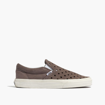 Vans® & Madewell Holepunch Slip-On Sneakers