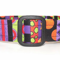 Colorful Halloween Dog Collar