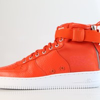 BC QIYIF Nike SF AF1 Air Force Mid Team Orange 917753-800