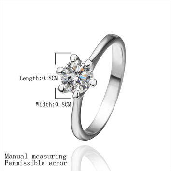 Austrian Crystal rings for men blossom Platinum Plated opal charm