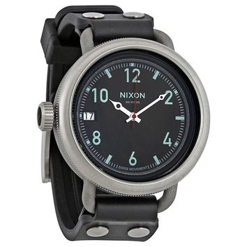 Nixon October Molded Rubber Dial Mens Watch A488000