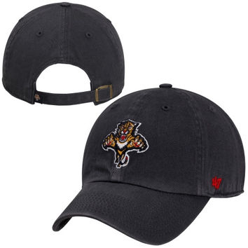 47 Brand Florida Panthers Clean Up Adjustable Hat - Navy Blue