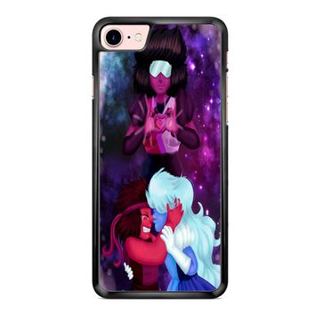 Ruby And Sapphire Steven Universe 3 iPhone 7 Plus Case