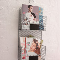 Tiered Magazine Rack