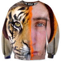 Half Tiger Sweatshirt