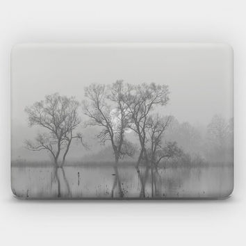 Transparent Skin Sticker Decal for MacBook Air 11' 13' MacBook Pro 13' 15' - Marsh Land