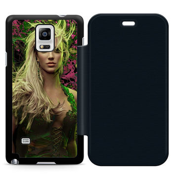 Young Britney Spears Flip Samsung Galaxy Note 4 Case