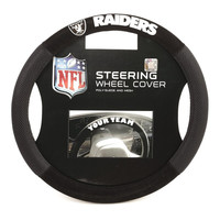 Oakland Raiders NFL Mesh Steering Wheel Cover