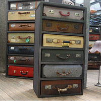 Vintage Suitcase Drawers | by James Plumb | materialicious