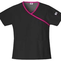 Dickies EDS Mock Wrap Scrub Top