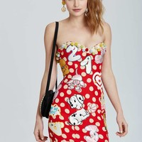 Vintage Moschino Padua Patch Dress