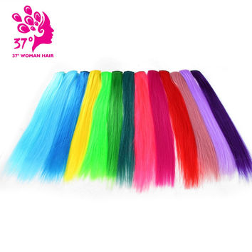 """Clip-in One Piece for Ombre Hair Extensions 16""""40cm"""
