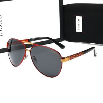 10007 GUCCI Fashion Popular Summer Sun Shades Eyeglasses Glasses Sunglasses