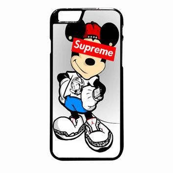 Mickey Mouse Supreme iPhone 6 Plus case