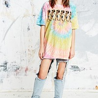 UNIF Turn Up Pugs Tie-Dye Tee - Urban Outfitters
