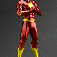 Manufacturer of science fiction, comic, movie and video games figures. Japan. DC COMICS THE FLASH NEW 52 ARTFX+ STATUE - ArtFX+