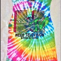 SWEET LORD O'MIGHTY! WTV TIEDYE TANK