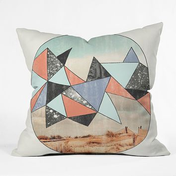 Wesley Bird Dry Spell Throw Pillow